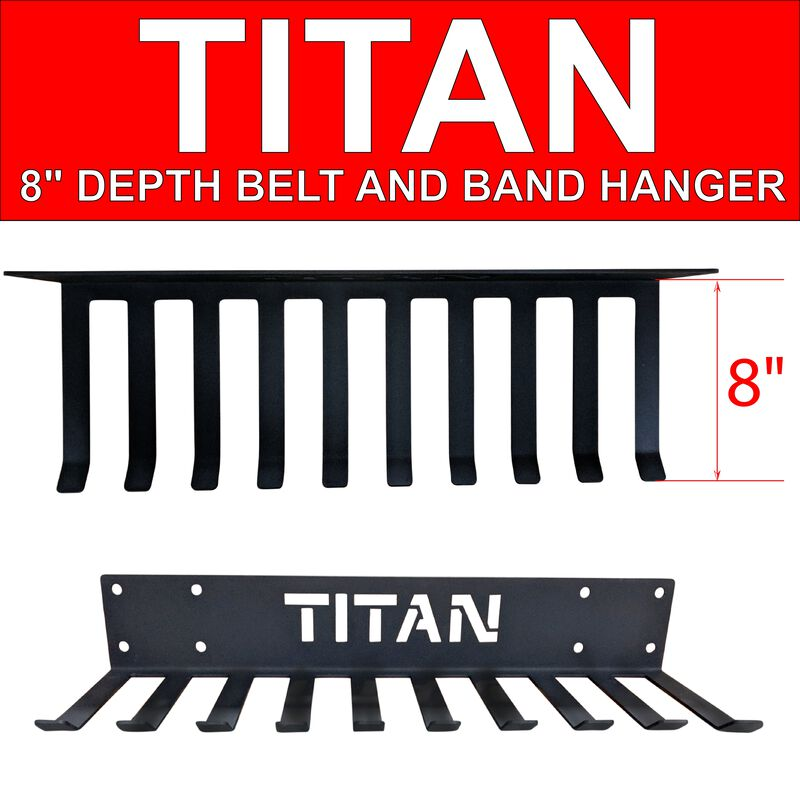 "8"" Depth Belt and Band Hanger"