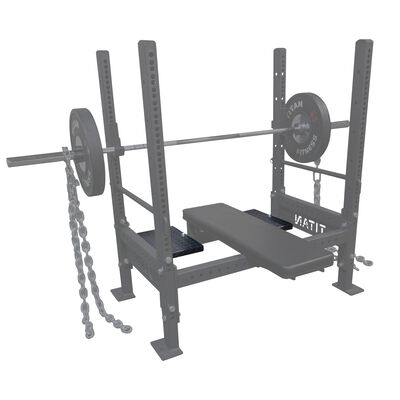 Spotter Decks for Bench Press Rack