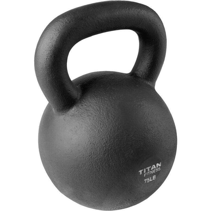 Cast Iron Kettlebell Weight - 75 lb