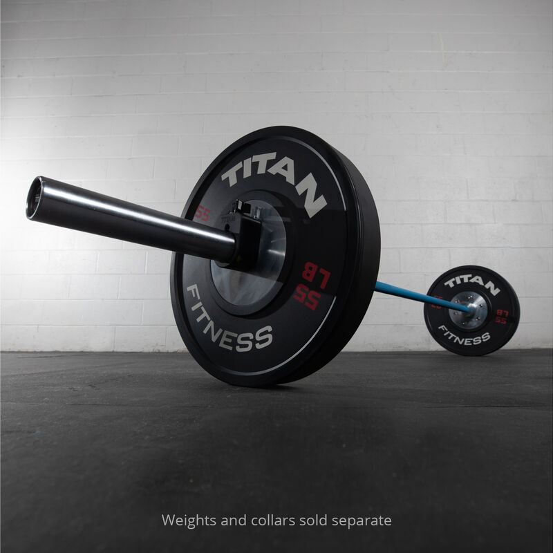 Blues City Olympic Barbell | Made In USA | Blue Cerakote