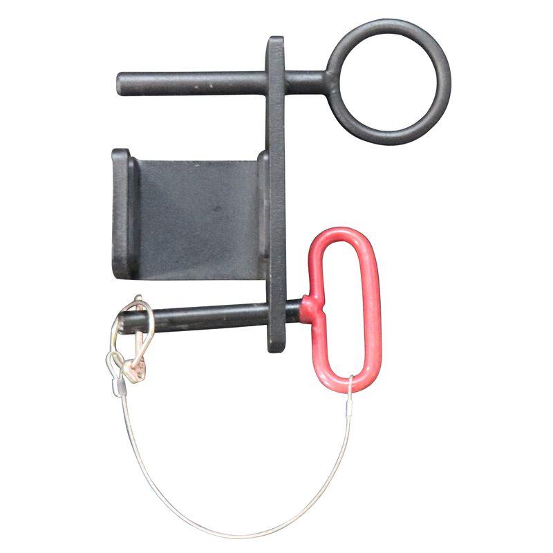 J-hook battle rope attachment for power racks
