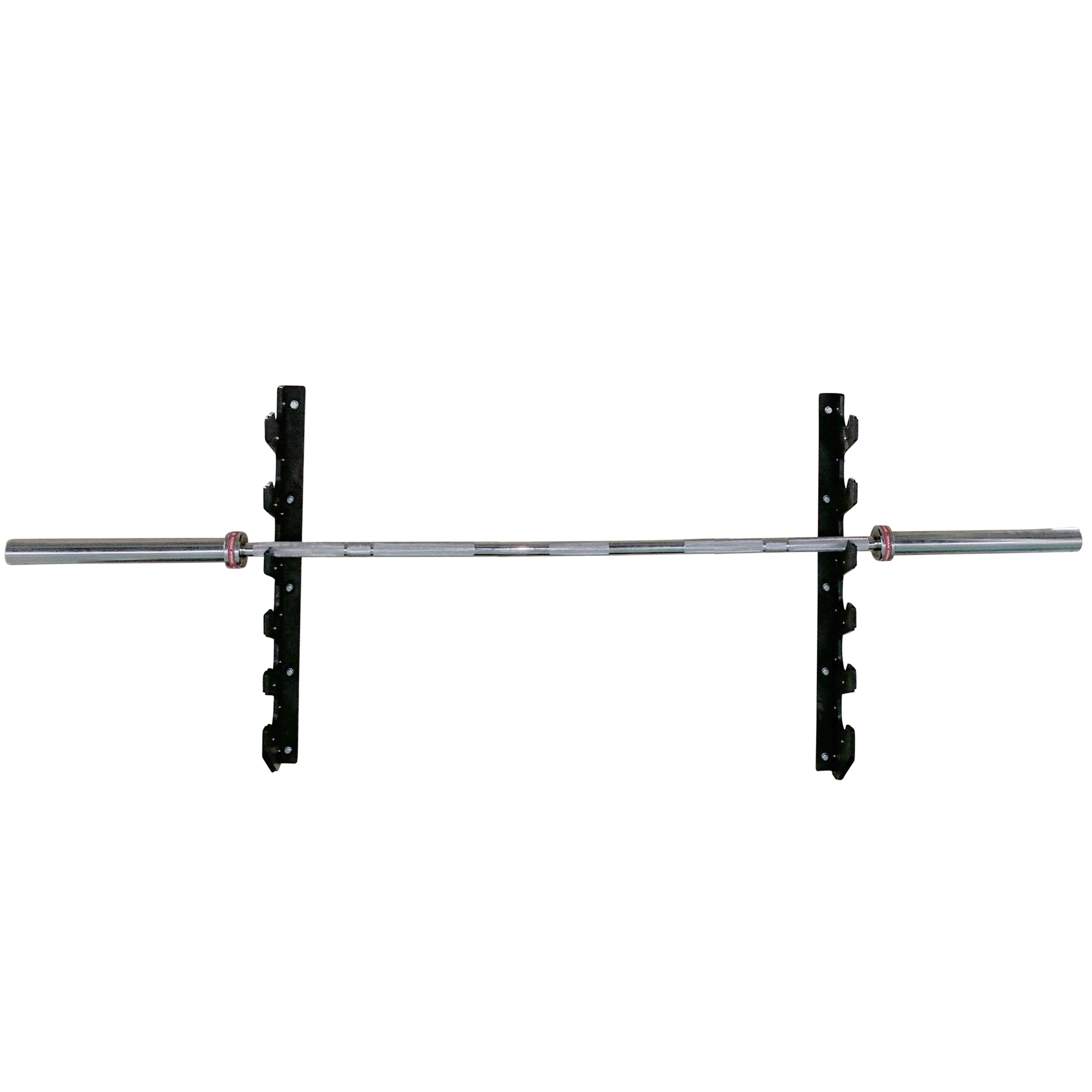 Body Power Wall Mounted Olympic Bar Storage