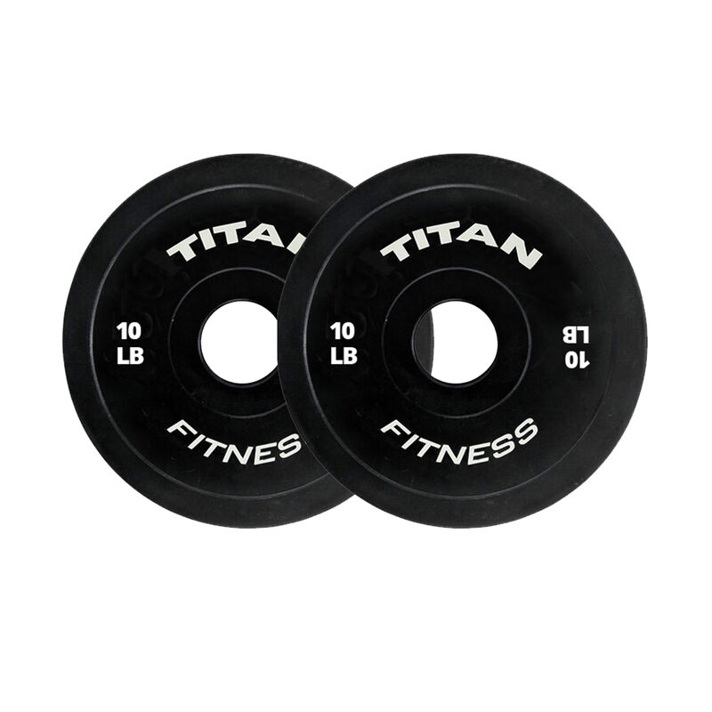 10 LB Pair Black Change Plates