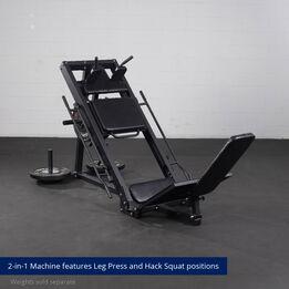 Scratch and Dent - Leg Press Hack Squat Machine - FINAL SALE