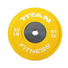 Elite Color Bumper Plate – 35 lb. Single