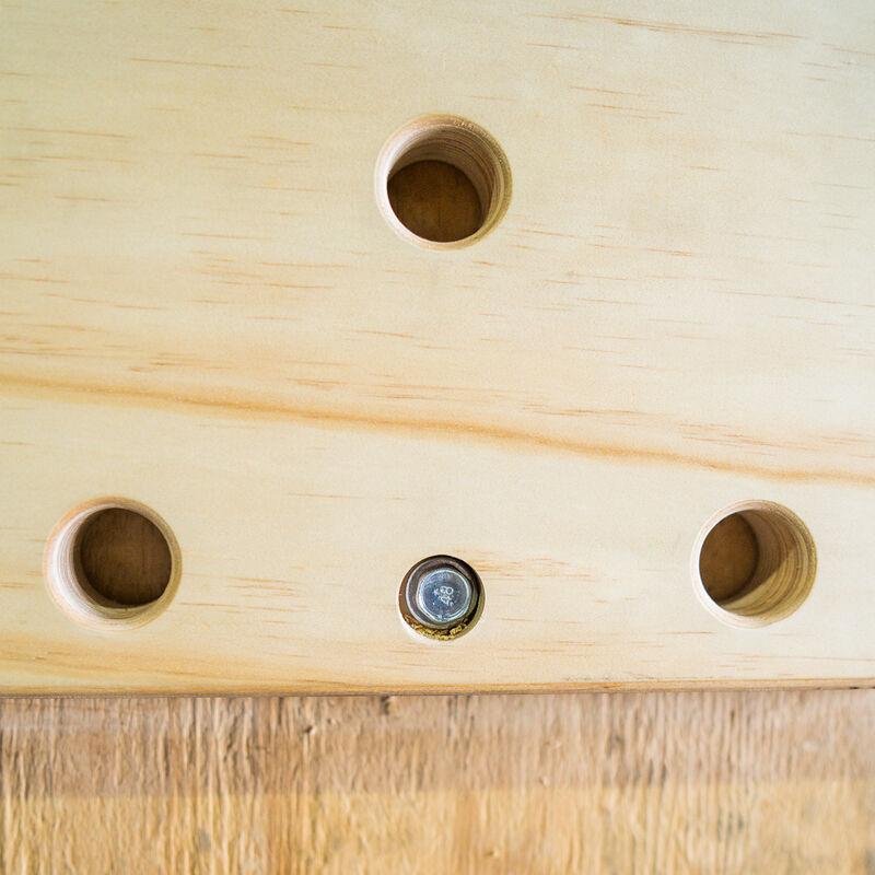 Wall-Mounted Peg Board