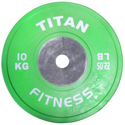 Elite Olympic Bumper Plates | Color | 10 KG Pair