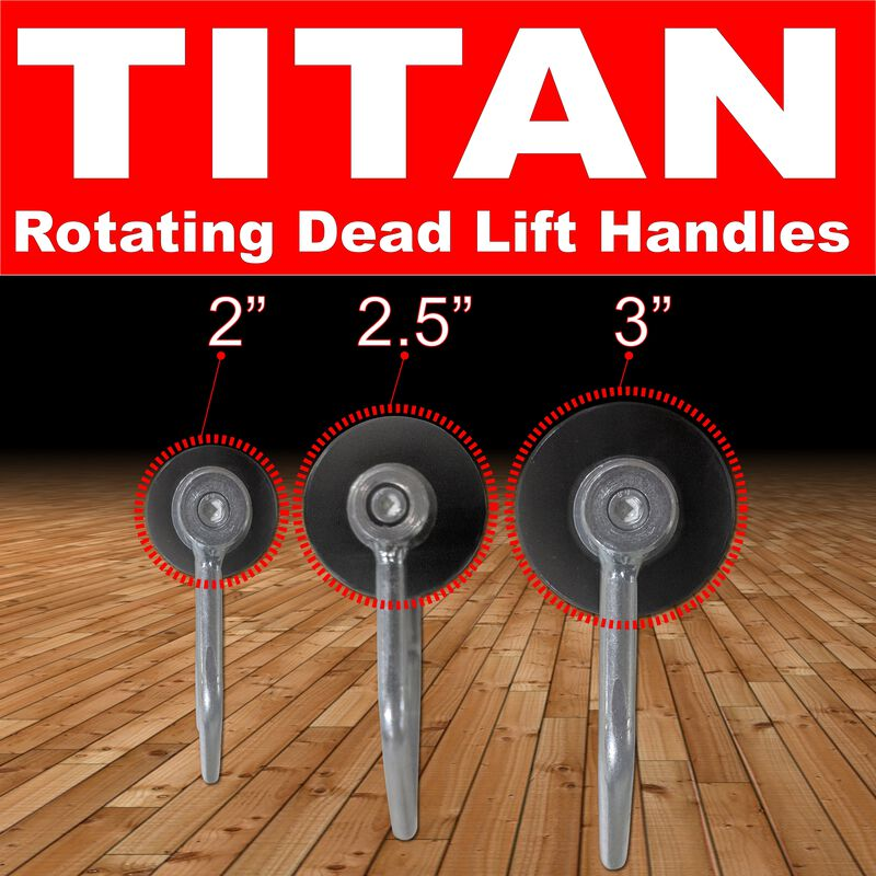 "3"" Rotating Deadlift Handle"