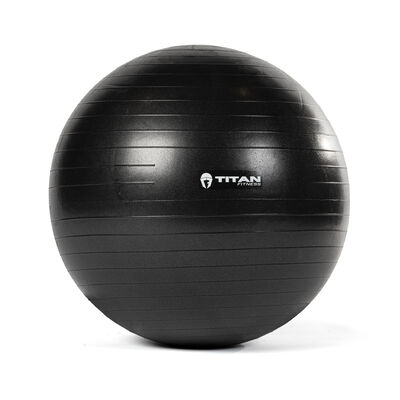 55 cm Black Exercise Stability Ball