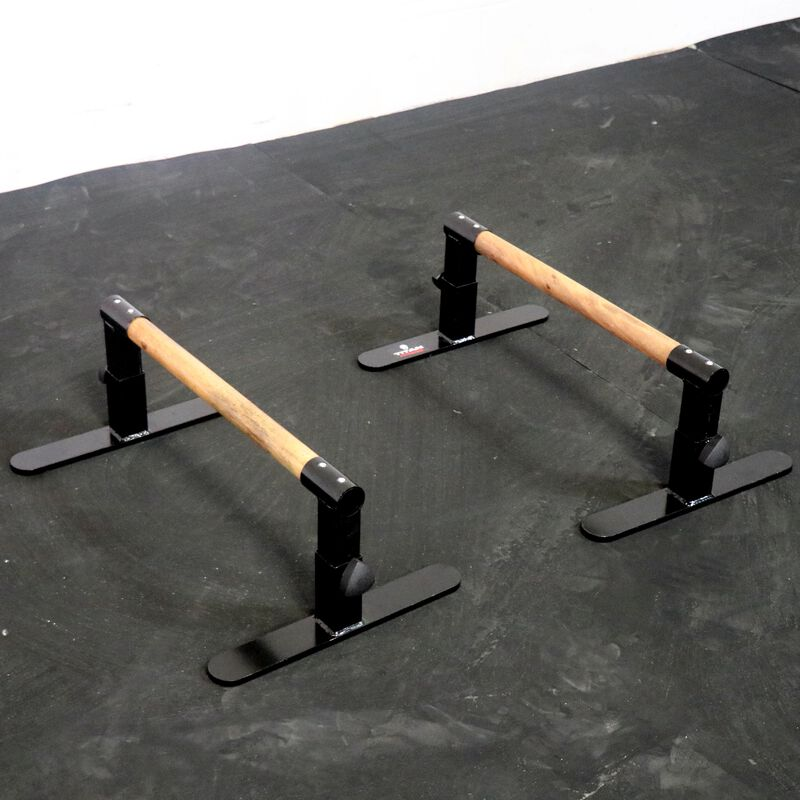 Wooden Parallettes | Adjustable