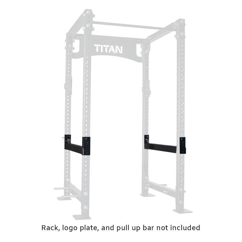 TITAN Series 42-in Flip Down Safety Bars