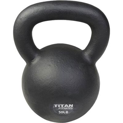 Cast Iron Kettlebell Weight - 50 lbs