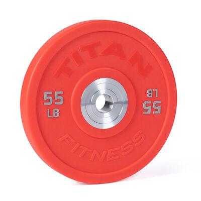 55 LB Single Color Urethane Bumper Plate