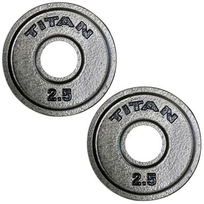 Cast Iron Olympic Weight Plates   2.5 LB