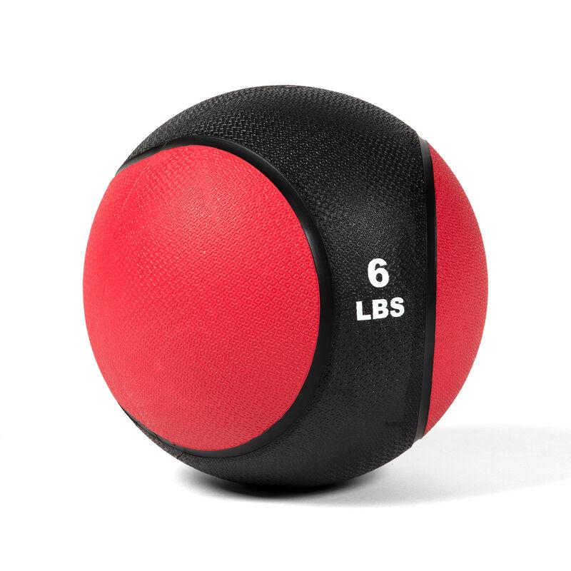6 LB Rubber Medicine Ball