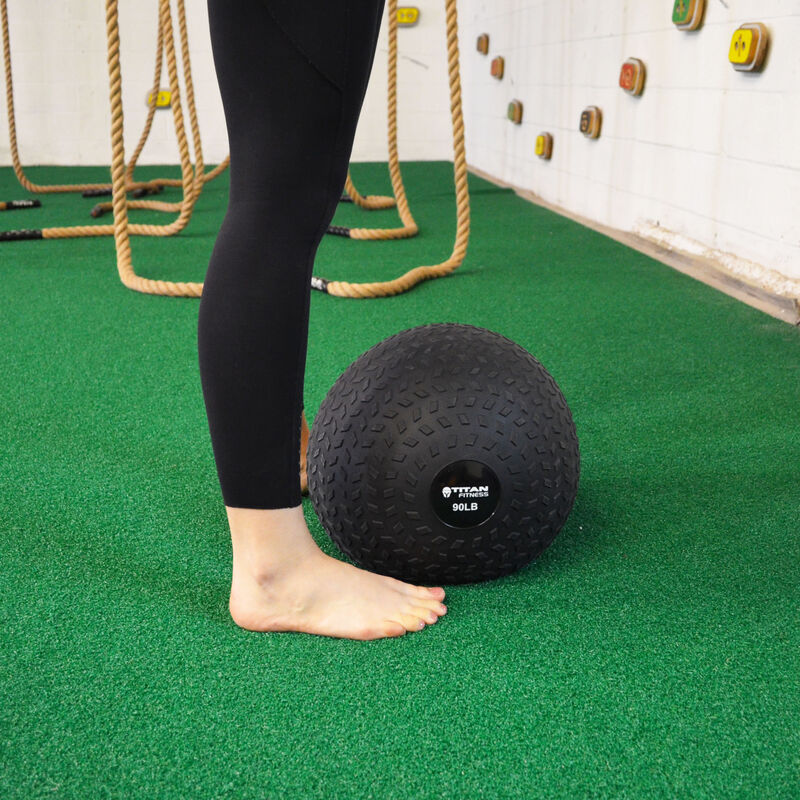 150 Lb Titan Fitness Slam Ball Rubber