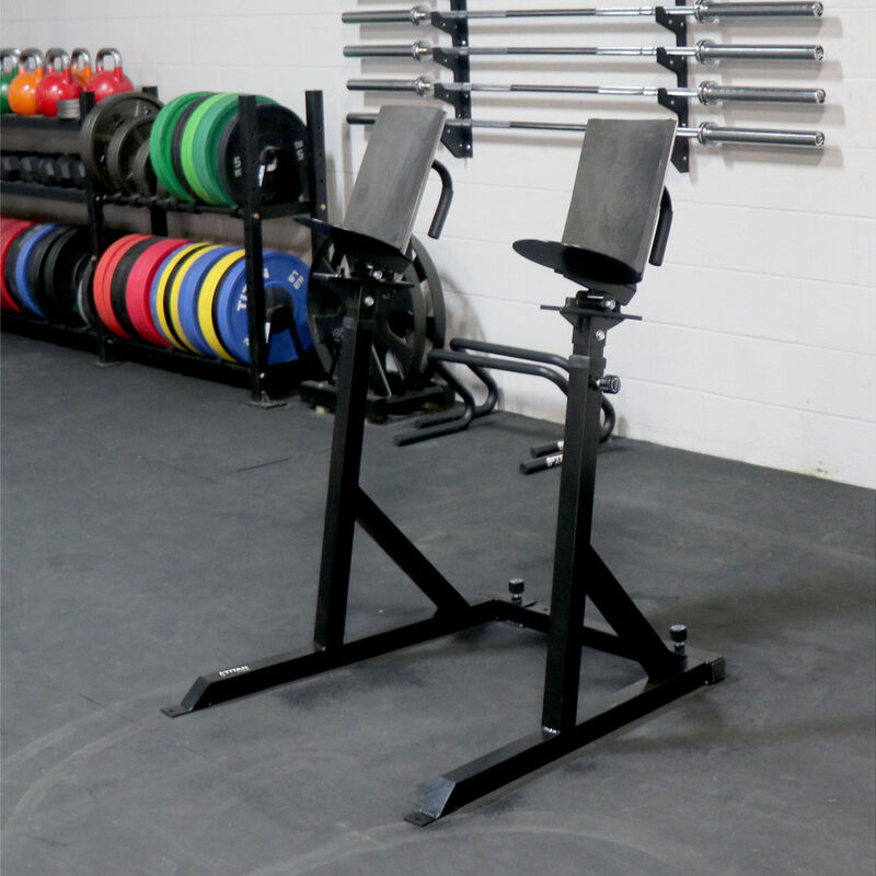 Adjustable Dumbbell Spotter Stand