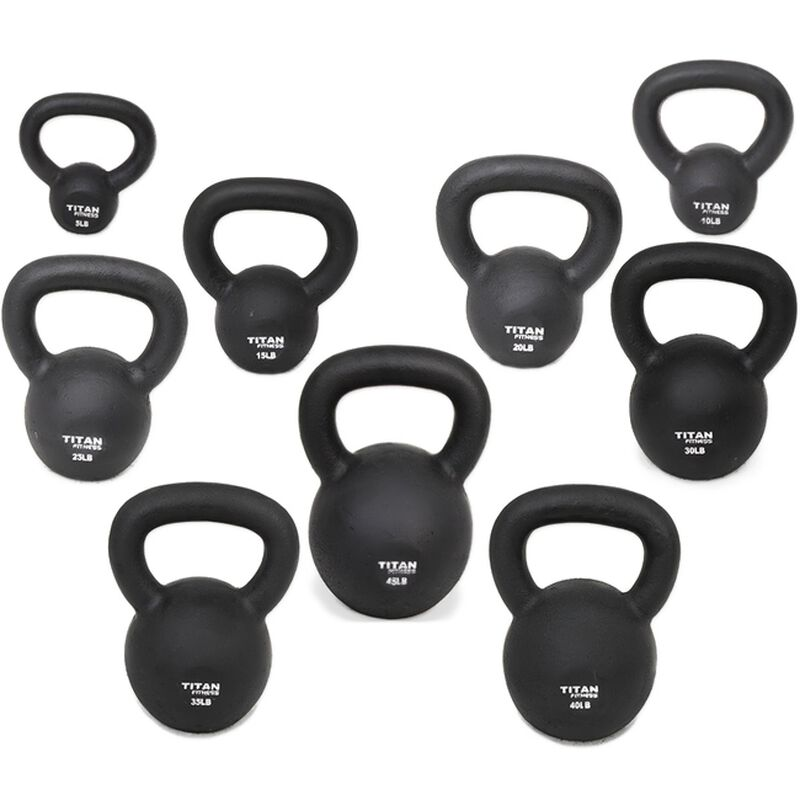 Cast Iron Kettlebell Weight - 40 lbs