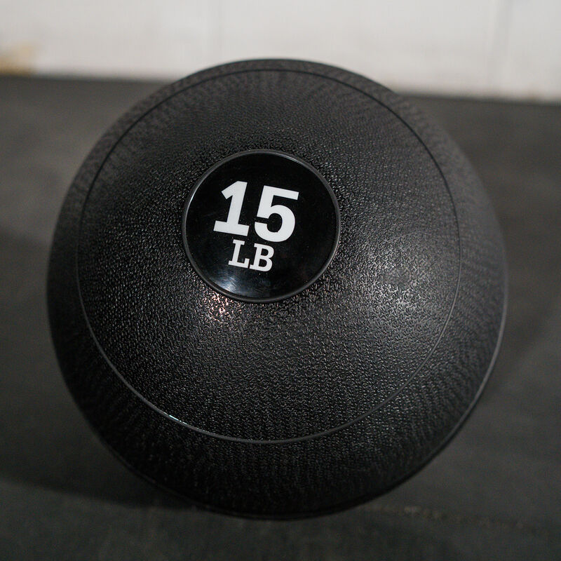 15 LB Rubber Slam Ball