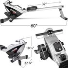 Magnetic Resistance Rowing Fitness Machine w/ LCD Screen