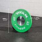 230 LB Set Elite Color Bumper Plates