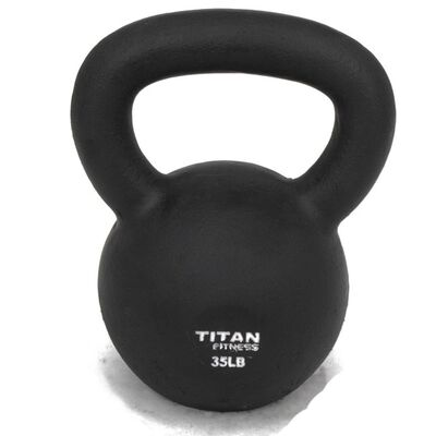 Cast Iron Kettlebell Weight - 35 lbs