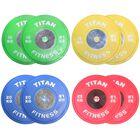 Elite Olympic Bumper Plates | Color | KG