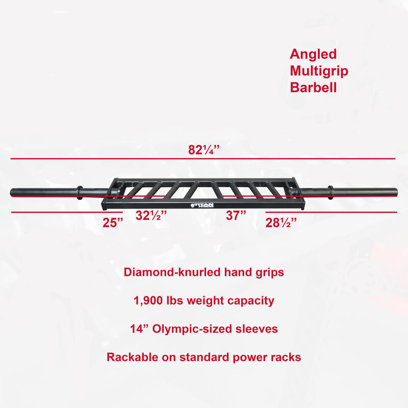 Angled Multigrip Barbell
