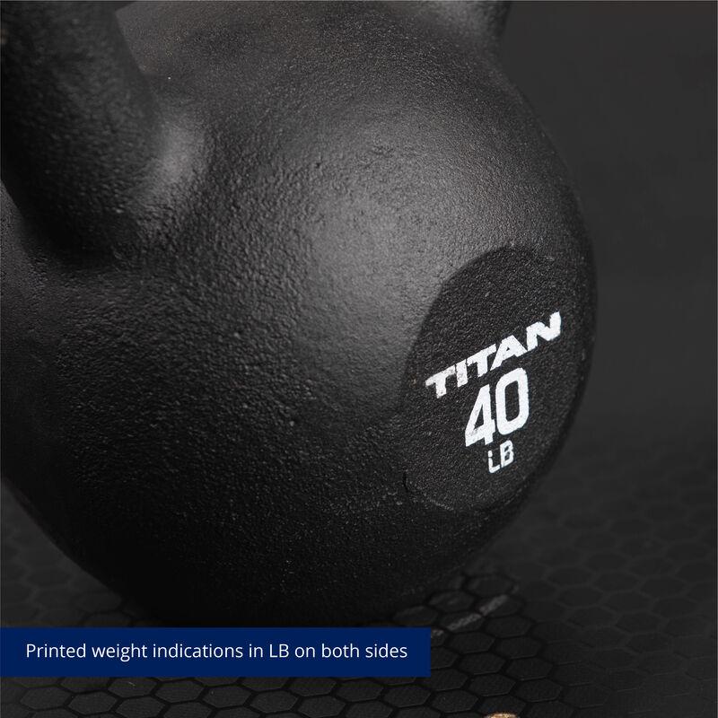 40 LB Cast Iron Kettlebells
