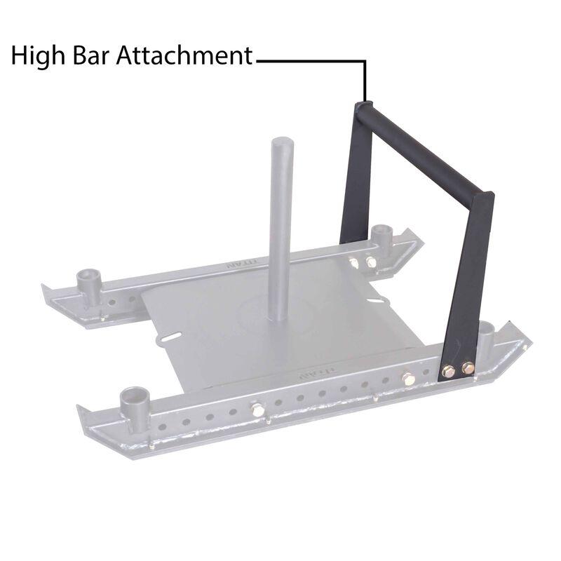 Titan Pro Sled System High Bar Attachment