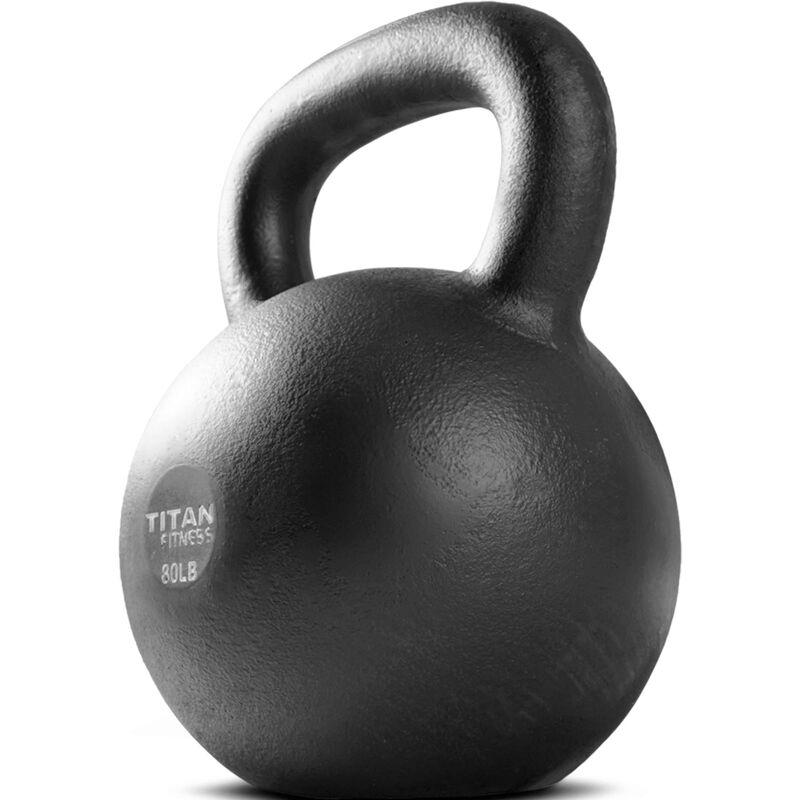 Cast Iron Kettlebell Weight - 80 lb