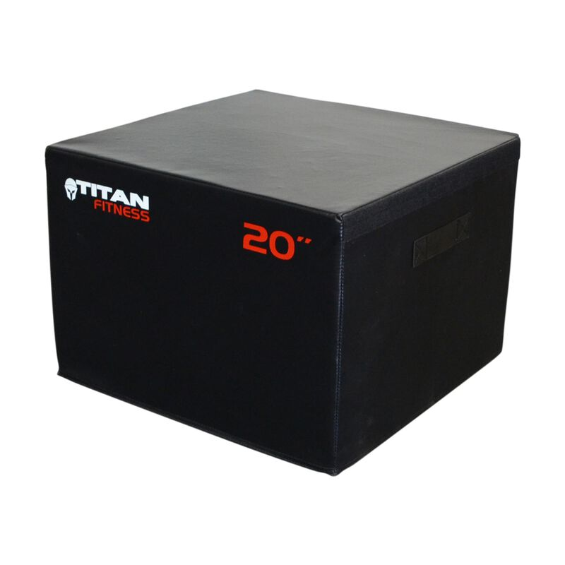 "20"" Portable Foam Plyometric Box"