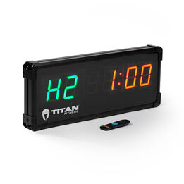 2-Sided Gym Timer With Remote