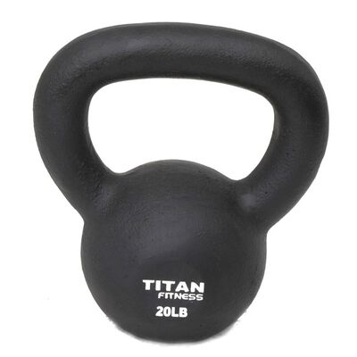 Cast Iron Kettlebell Weight - 20 lbs