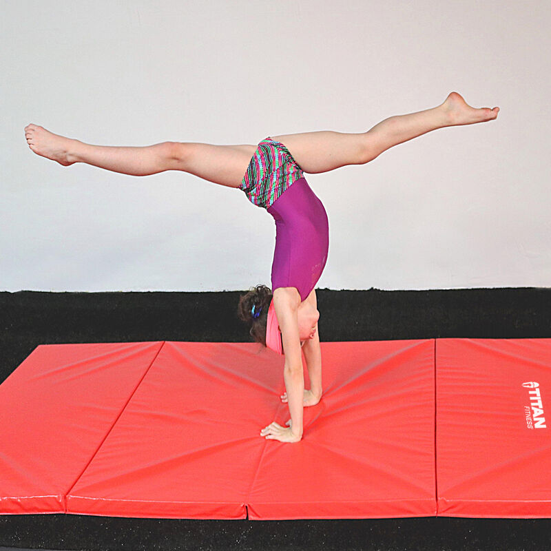8 FT x 4 FT x 2-in Jr. Gymnastics 5-in-1 Bar & Mat Combo