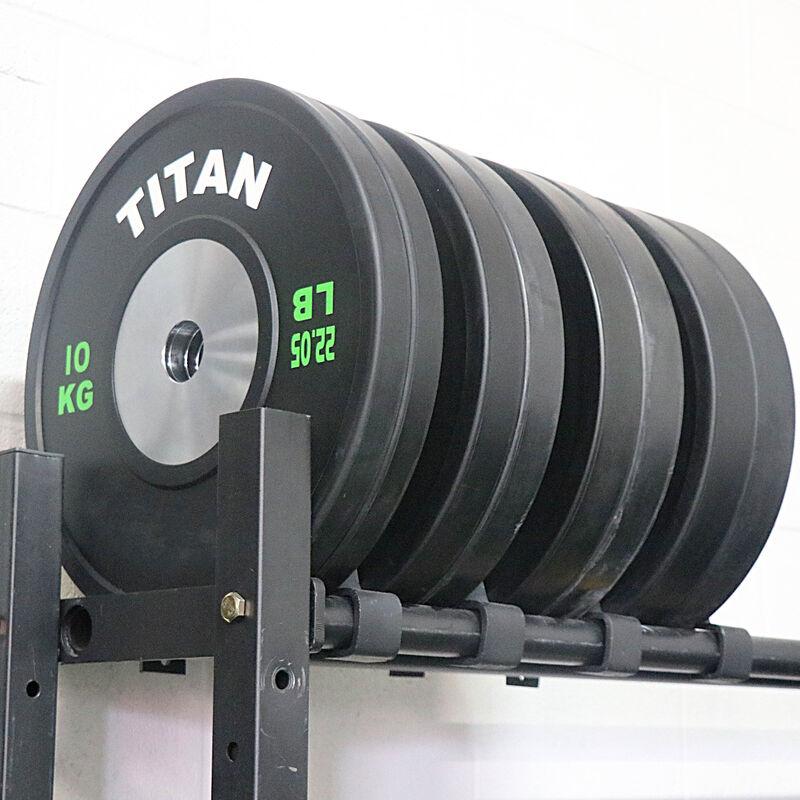 140 KG Set Elite Black Olympic Bumper Plates