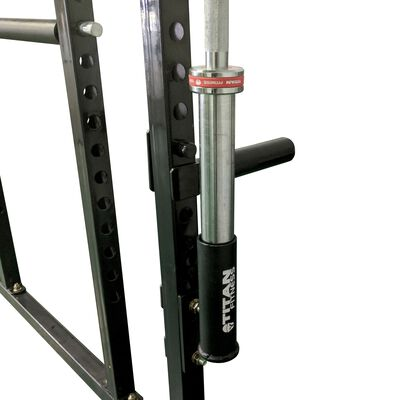 Pair Of Vertical Mount Barbell Holders For T-2 Power Rack