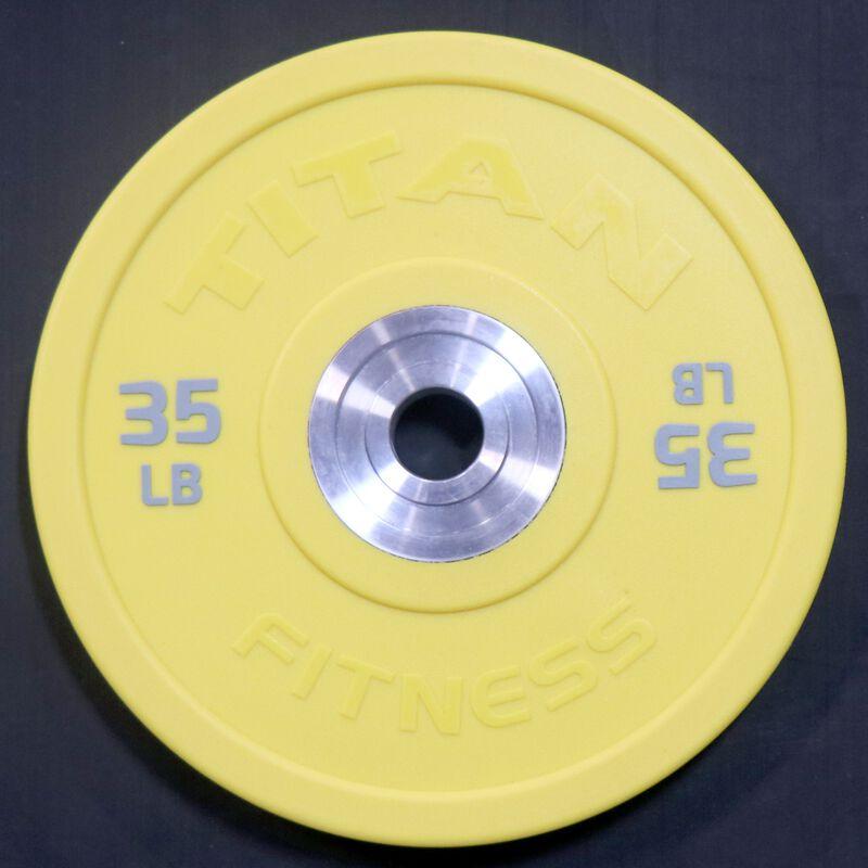 Urethane Bumper Plate | Color | 35 LB Single