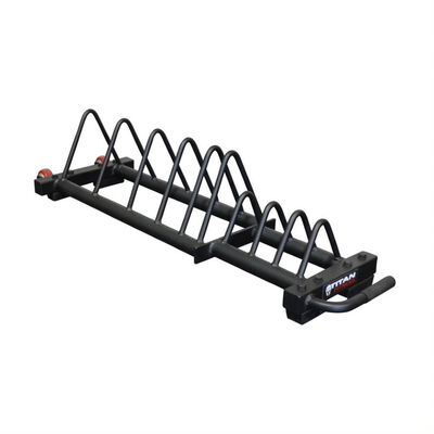 Horizontal Weight Plate Storage w/ Wheels