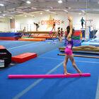 Jr. Gymnastics Balance Beam | 8' Folding | Pink