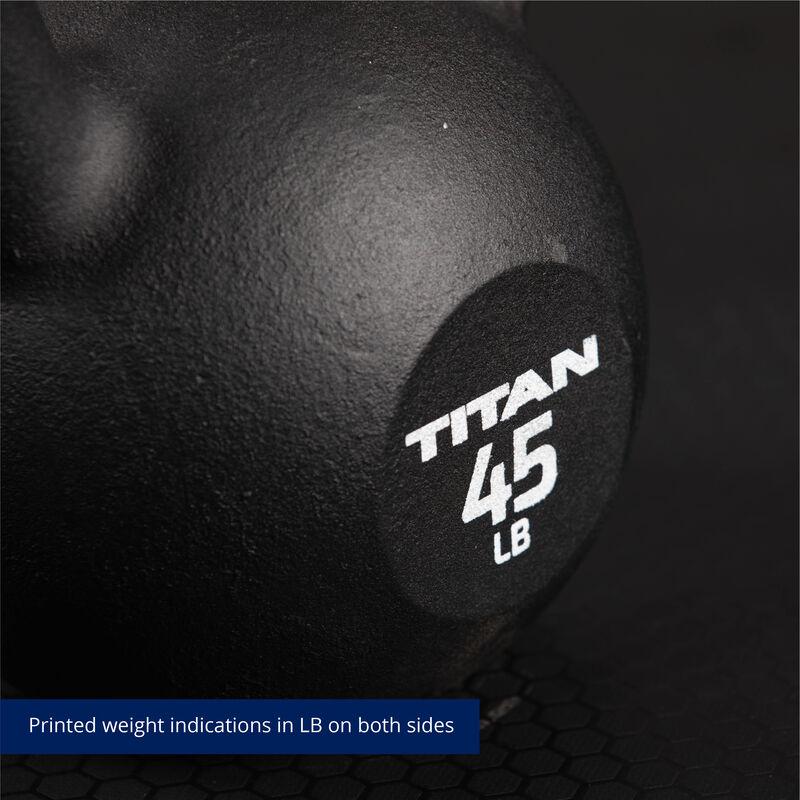 45 LB Cast Iron Kettlebells