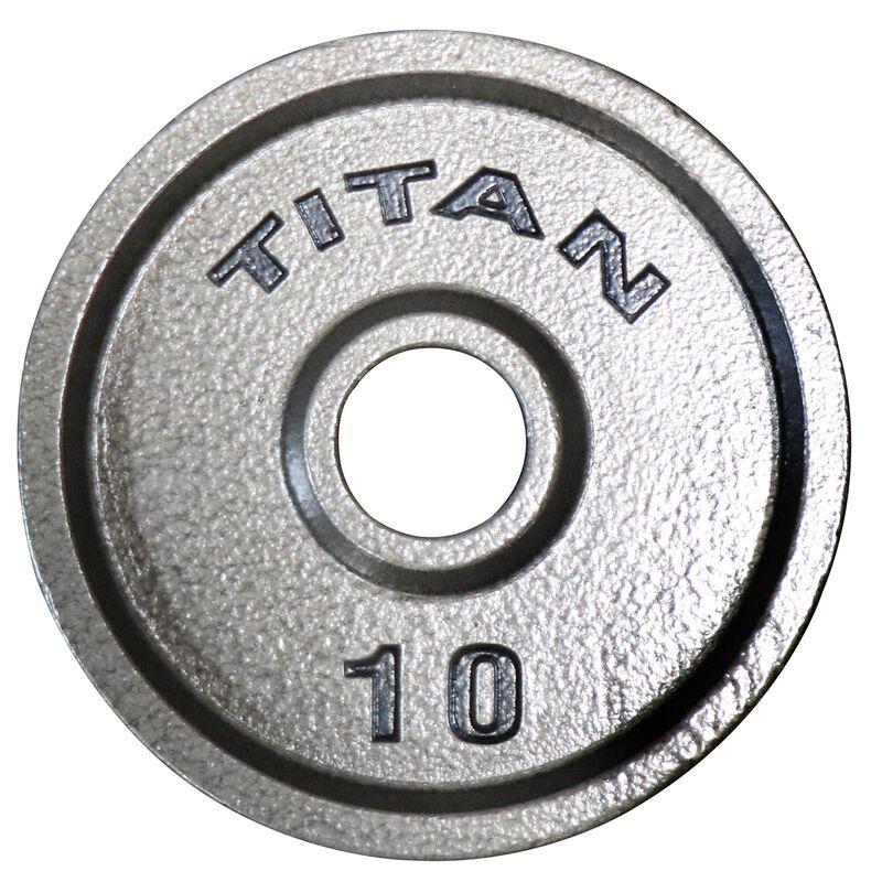 10 LB Pair Cast Iron Olympic Plates