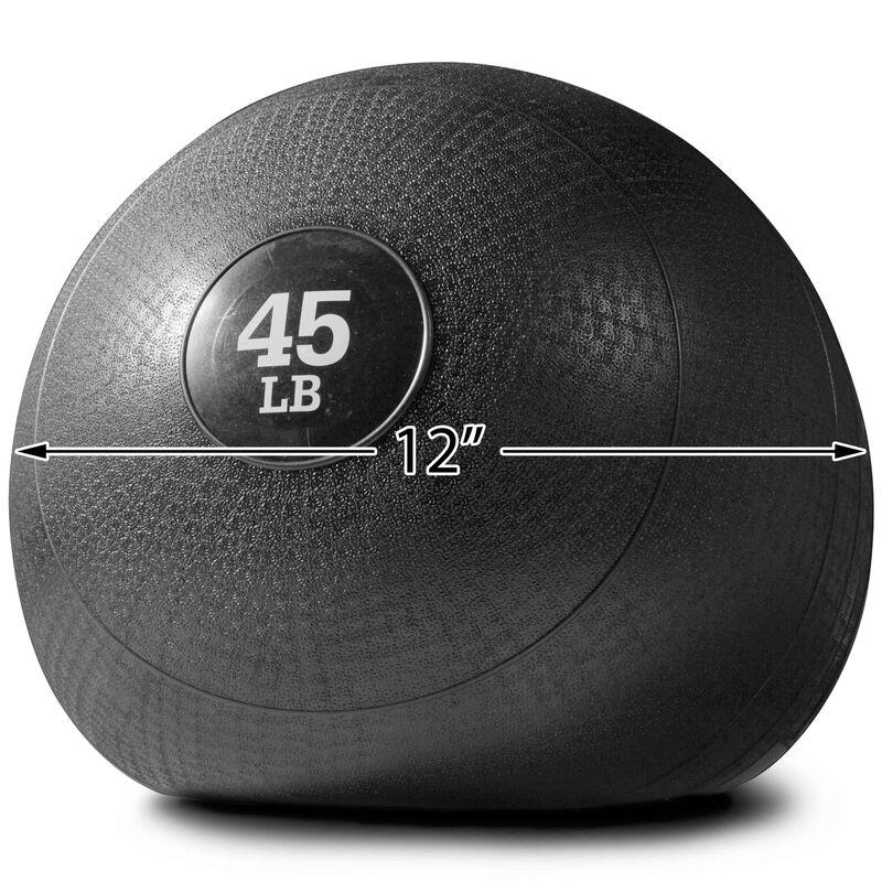 45 LB Slam Ball Rubber