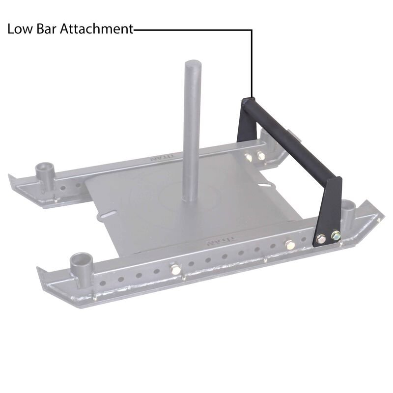 Titan Pro Sled System Low Bar Attachment