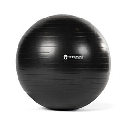 65 cm Black Exercise Stability Ball