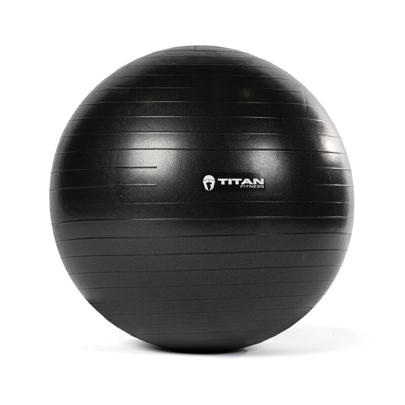 65 cm Black Exercise Stability Ball