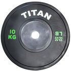KG Elite Black Olympic Bumper Plates