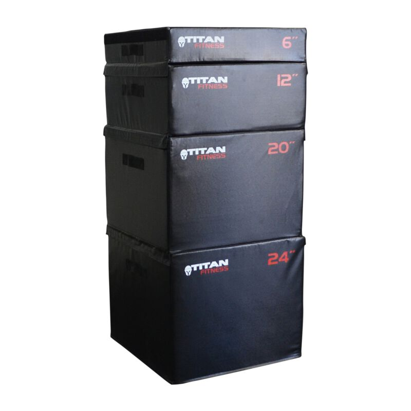 "12"" Portable Foam Plyometric Box"