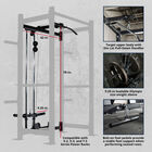 Lat Tower Short Height Rack Attachment – X-2, X-3, and T-3 Series Power Rack Compatible
