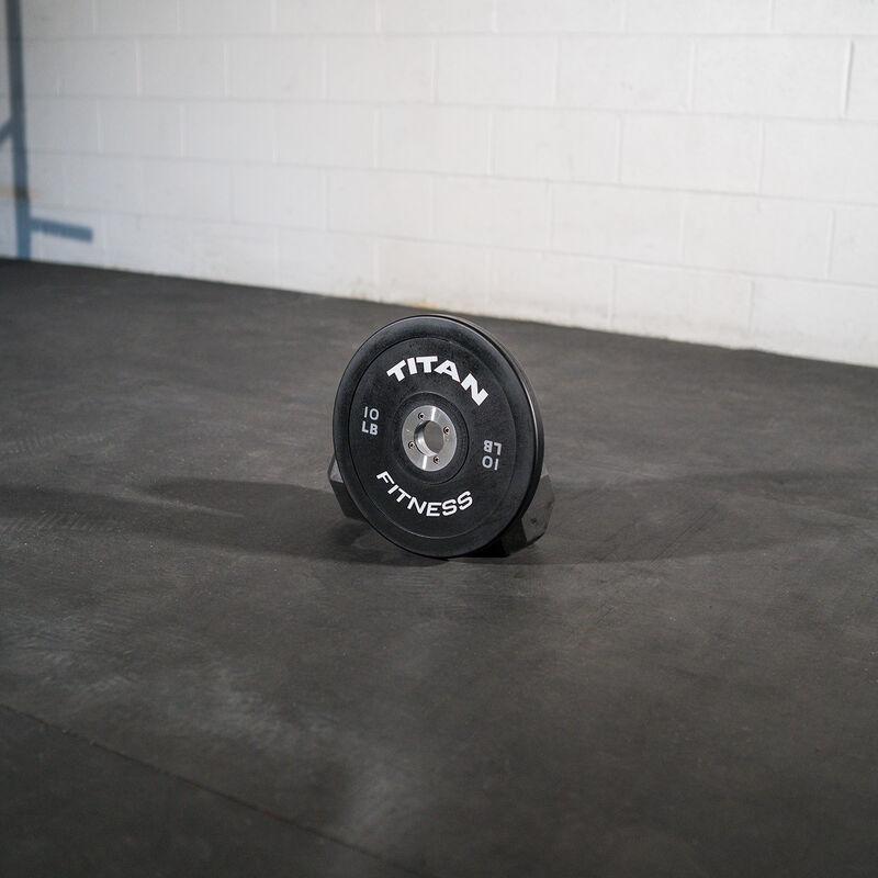 10 LB Pair Elite Black Bumper Plates